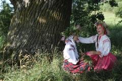 Вольг, Кацярына і дуб. фота А. Мікус